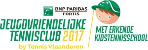 jeugdvriendelijke tennisclub en kidstennisschool 2017