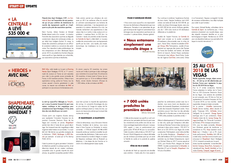 Sport Stratégie Article La Centrale du Sport