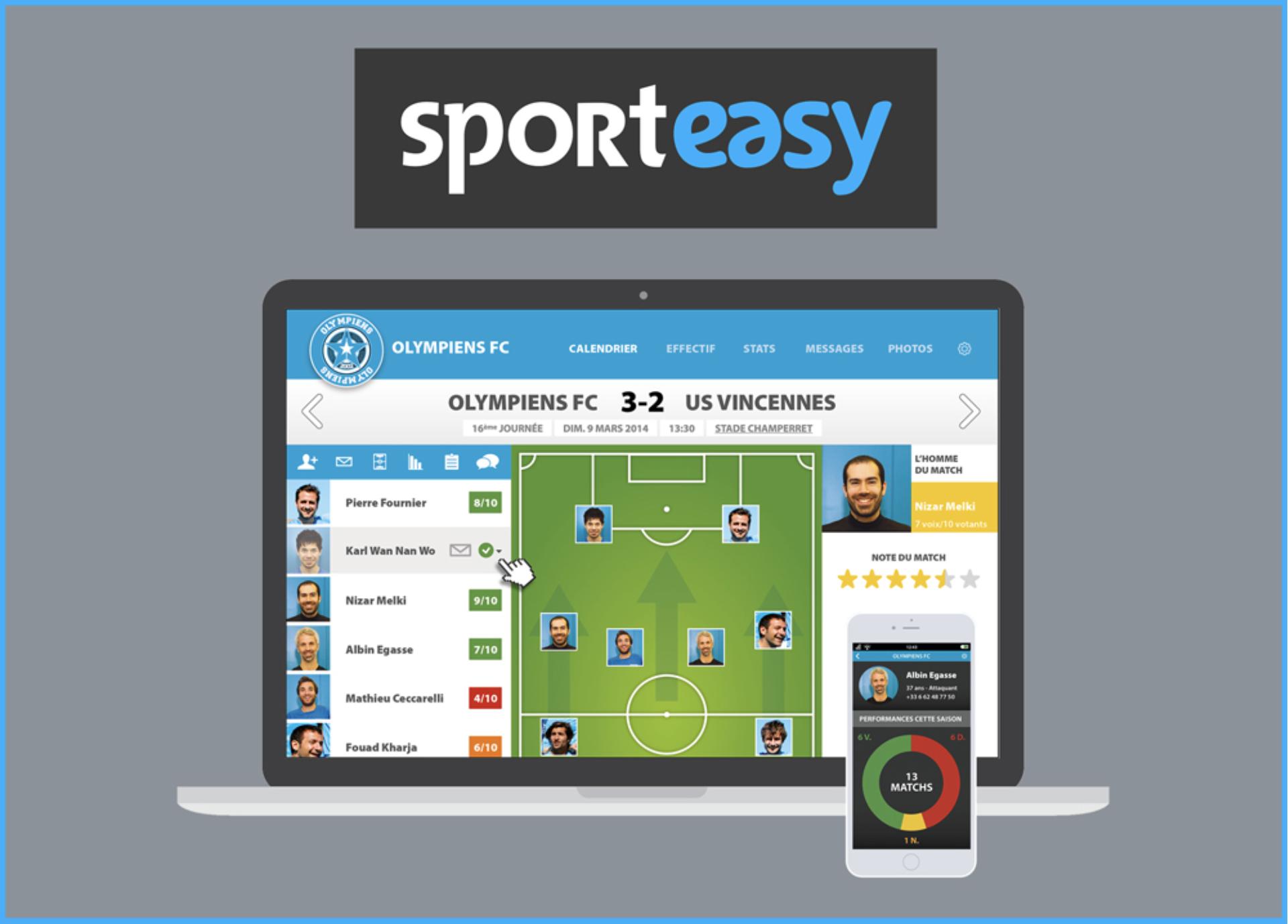 SportEasy, l'app pro pour le sport amateur