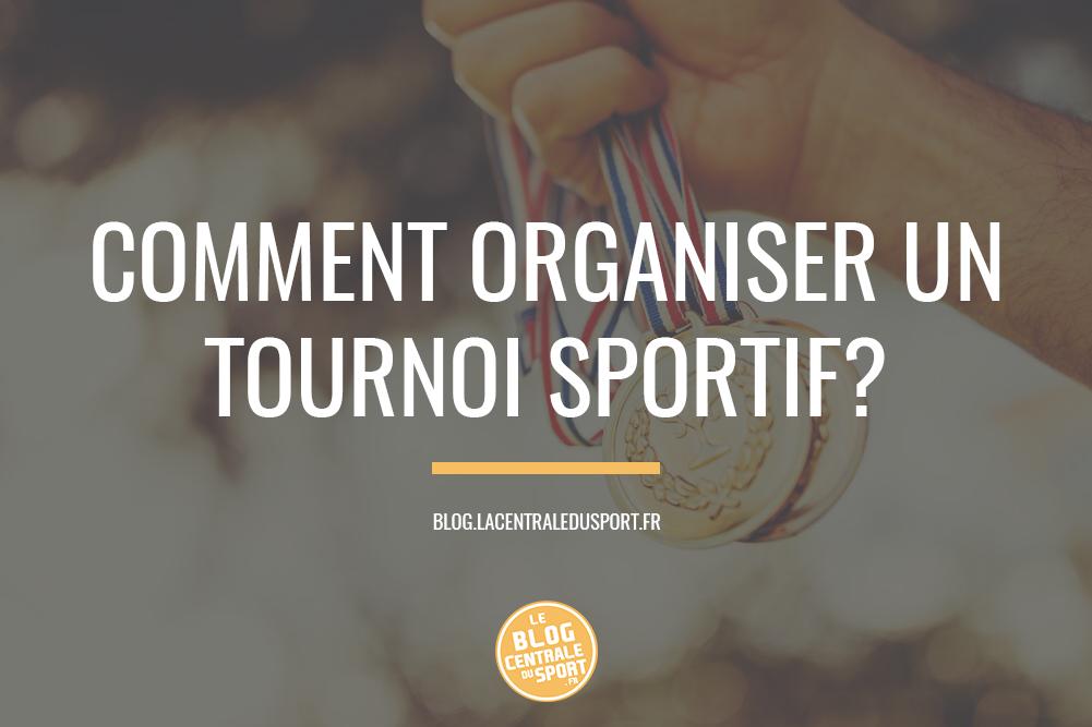 organisation tournoi sport