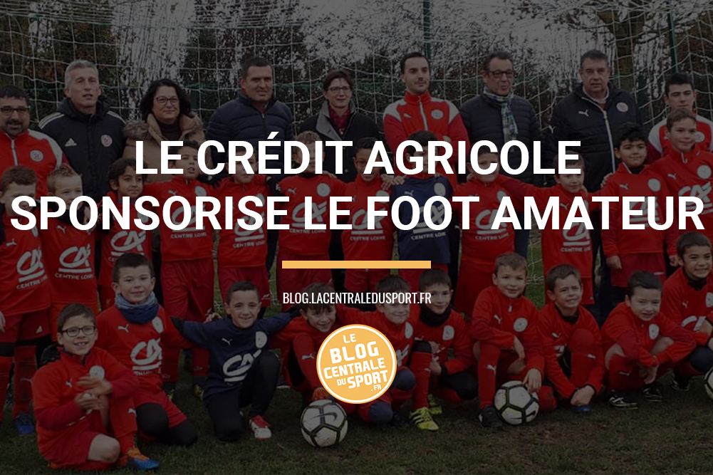 crédit agricole all sponsored sponsoring football foot amateur