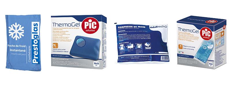 parapharmacie pharmacie froid compresse poche de gel