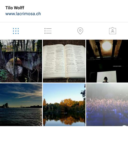 Начало своего Instagram
