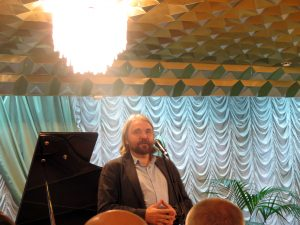 Выступление на открытии Вице-президента Творческого союза художников России Е.Ромашко