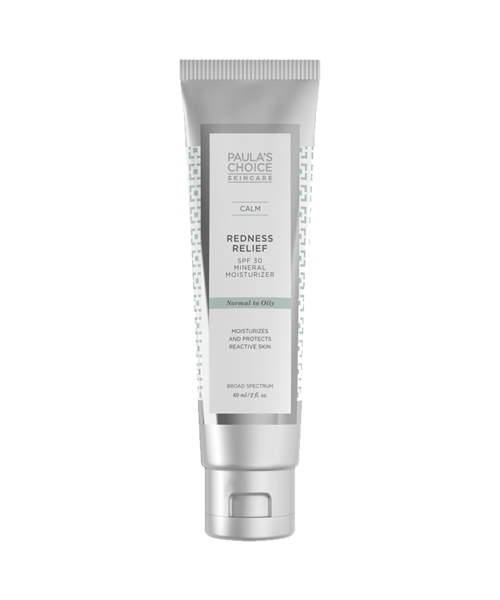 Redness Relief Mineral Moisturizer SPF 30 Oily to Normal
