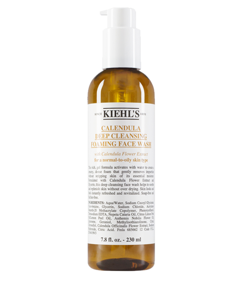 Calendula Deep Clean Foaming Face Wash