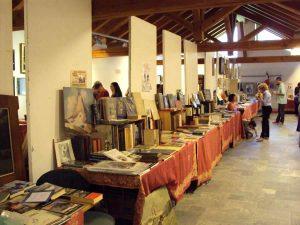 Interno della mostra Librerie Antiquarie
