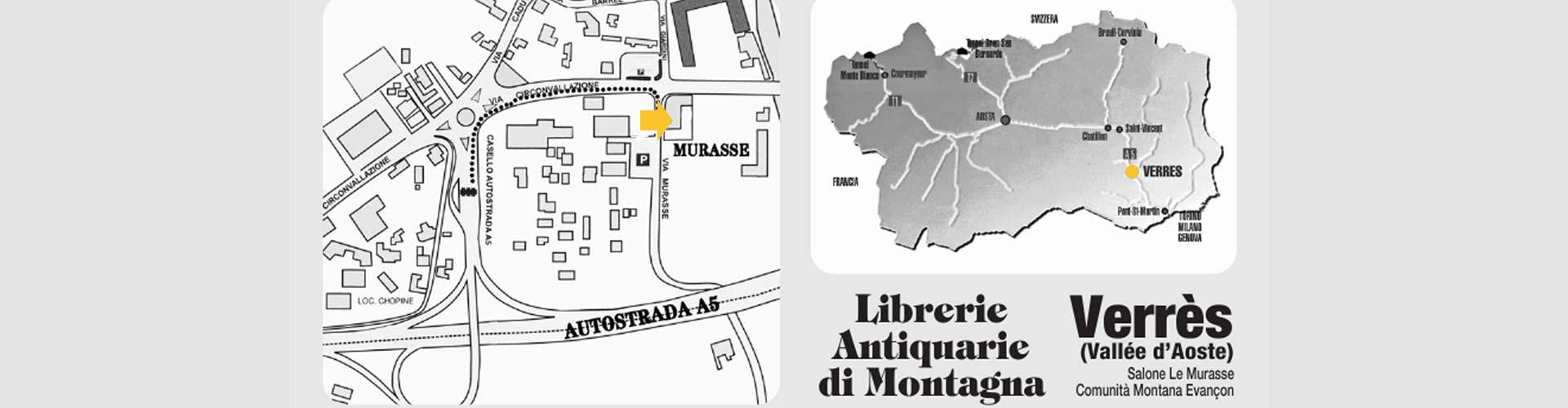 Arrivare evento Librerie di Montagna