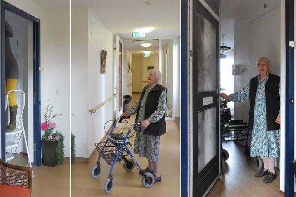 ポスター1枚で老人ホームが「我が家」に早変わり!高齢者の記憶が蘇る「True Doors」
