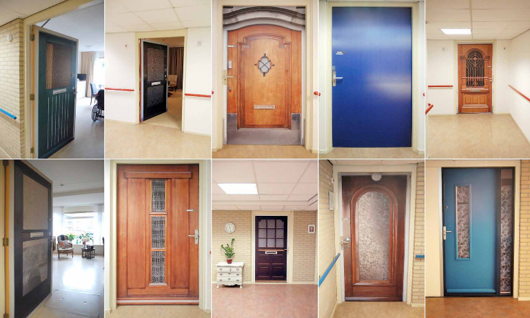 Doors from the past cheer up dementia sufferers - DutchNews.nl