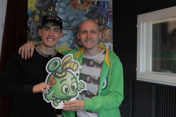 Lauri Konttori and Pop Superstar Robin