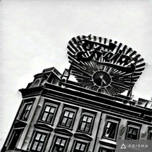 Freiaklokka i Oslo sentrum.