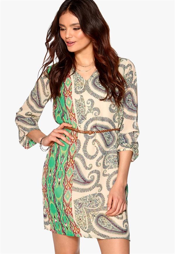 Edward Print Short Dress
