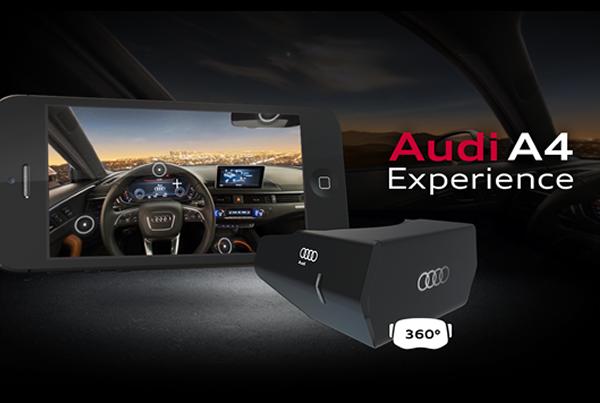 Audi A4 – Virtual Reality