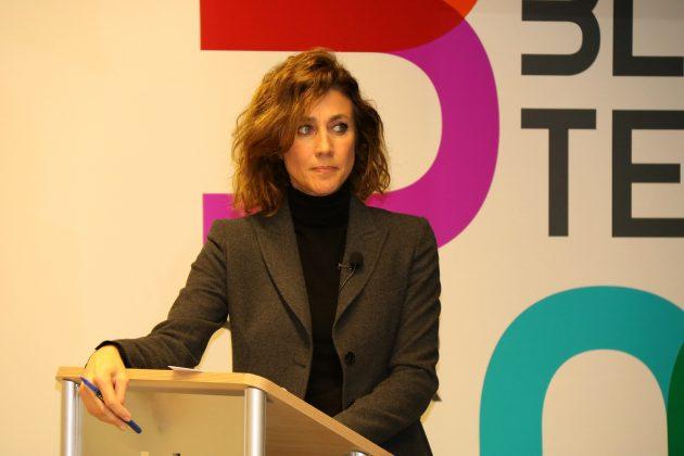 Helena Garcia Melero, periodista i presentadora de l'acte