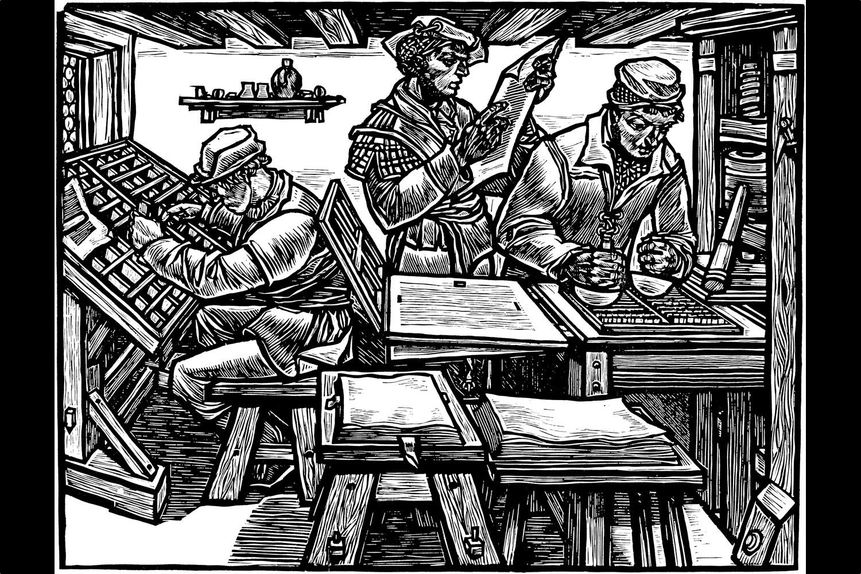 Gutenberg soll für WordPress so epochal sein wie Gutenberg für die Welt. Illustration: Flickr-Nutzer Frédéric BISSON