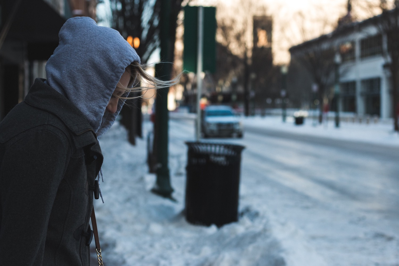 Eis gehört im Winter in Virginia zum Straßenalltag. Foto: Brandon Mathis/Unsplash