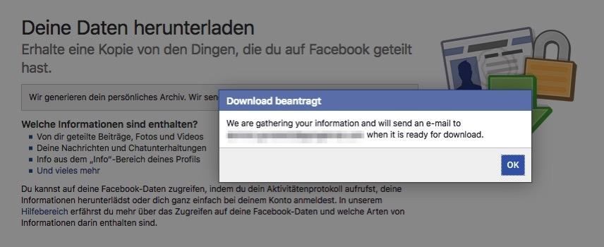 Facebook lokalisierung naja egal