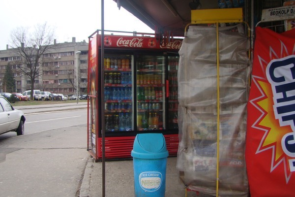 Belgrade street kiosk flickr vasenka photography