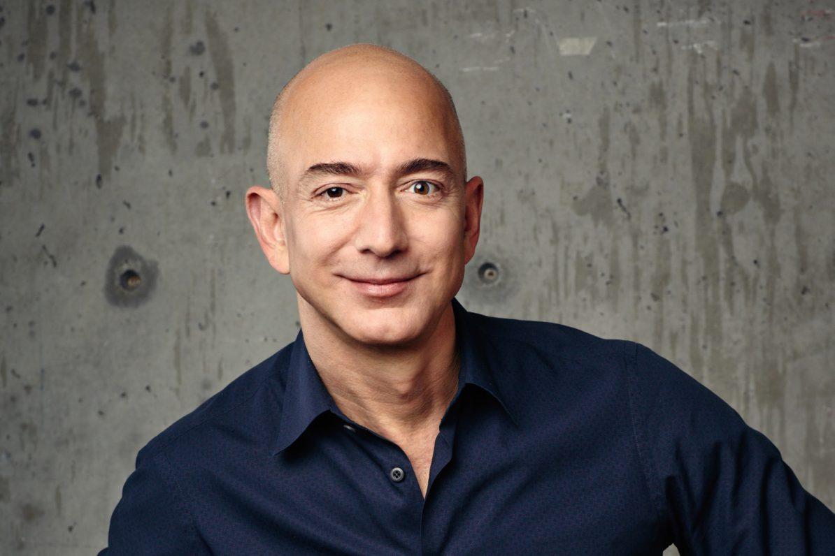 Amazon-Chef Jeff Bezos (Pressebild Amazon)