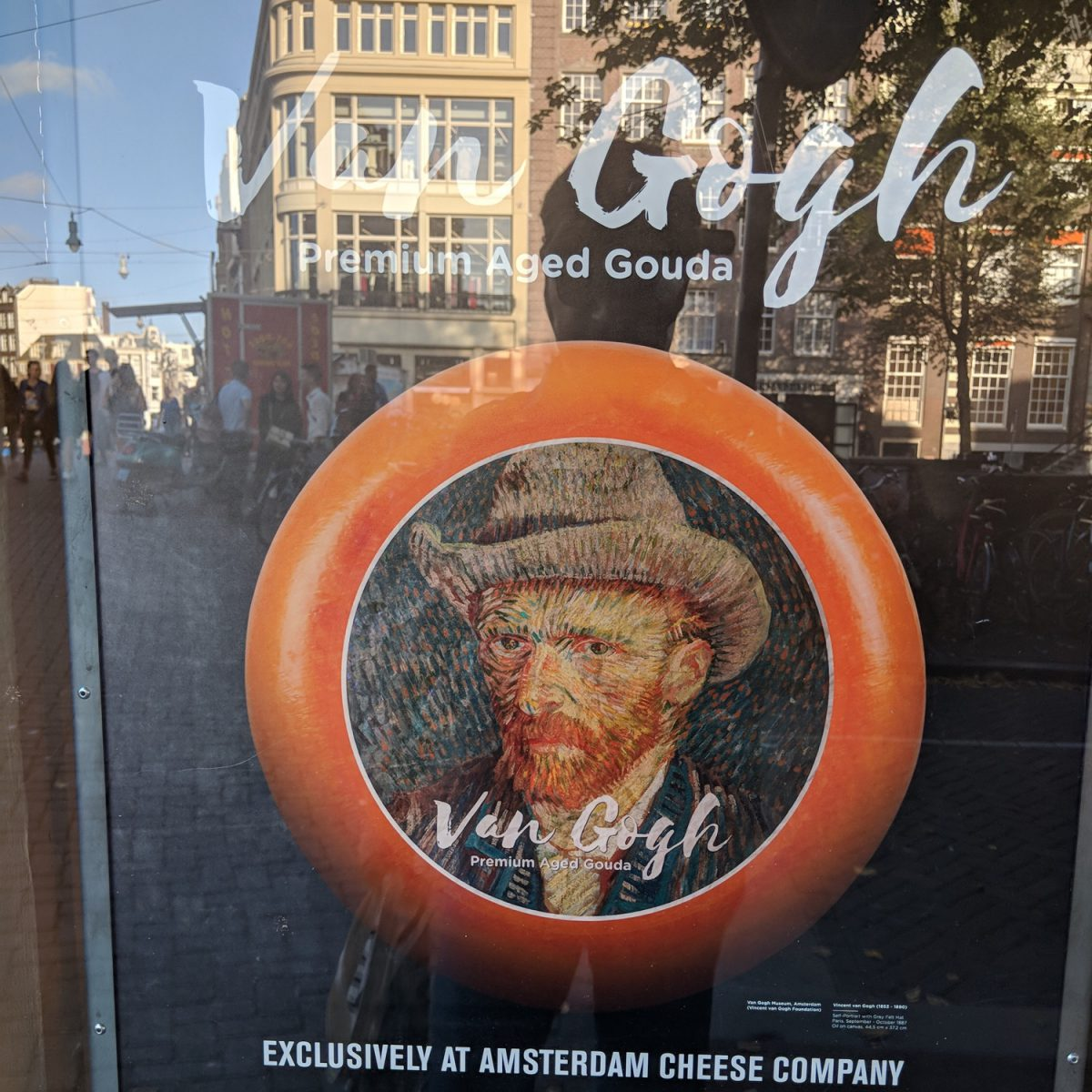 Van Gogh Premium Aged Gouda. Eigenes Foto