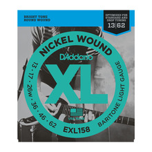 D`Addario EXL158 XL BARITONE LIGHT (13-62)