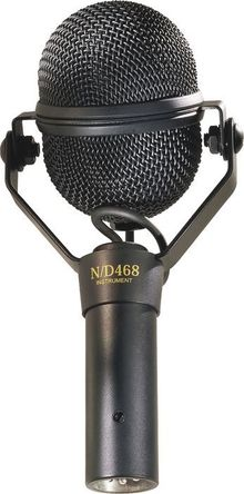 Инструментальный микрофон Electro-Voice N/D 468
