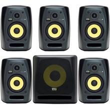 Студийные мониторы система 5.1 KRK VXT4 + KRK 10s