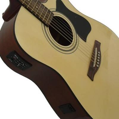 Imc ibanez v72ece-bk elektro akustik gitar ibanez v72ece-bk elektro akustik gitar +kılıf