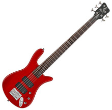 Warwick Rockbass Streamer Standard 5 2010 Burgundy Red Oil Finish