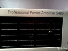 Krest Professional power amplifiers s480