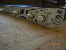 dbx 386 Ламповый микрофонный предусилитель