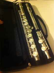 YAMAHA F100 Серебряная флейта