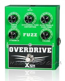 XVIVE W2 Overdrive Fuzz 2015 Зелёный, литой металл