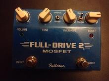 Fulltone   Fulldrive 2 mosfet 2010 синий