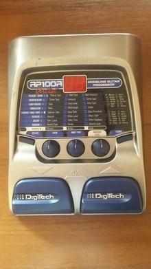 DigiTech RP100A 2005 Silver Grey