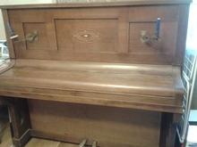 Deppe & Schutte пианино 1910 коричневый