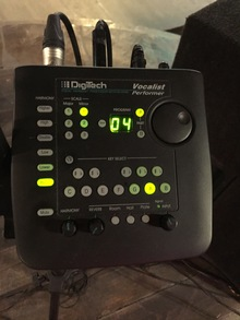 DigiTech vocalist performer