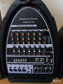 Мобильная аудиосистема American Audio PPA-210