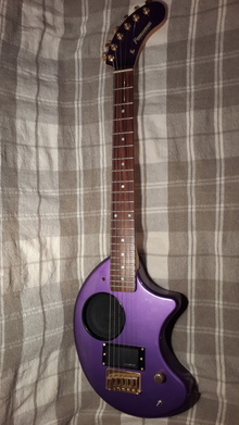 Fernandes  Nomad Deluxe  Трэвел гитара