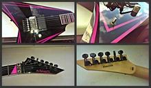 Edwards ESP E-AL-166 PINK 2008 Черный/Розовый