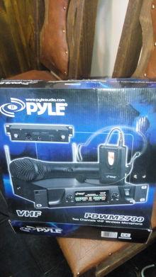 PYLE PRO  PDWM 2700 Беспроводной микрофон 2 канала