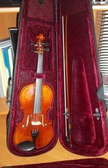 Скрипка нова 2007
