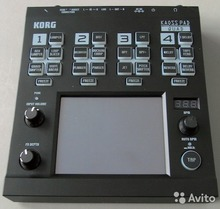 KORG Kaoss PAD Quad 2013 Чёрный 10000 р.