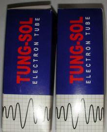 TUNG-SOL 6SN7  лампы