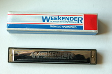 Weekender horner international tremolo harmonica 1999 металл, дерево