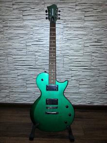 Fernandes Guitars MX08 DGMS 2013 Dark Green Metallic Satin
