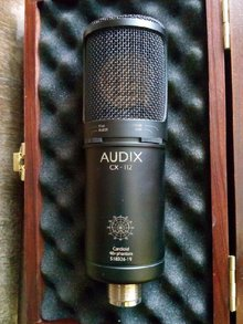 Audix cx 112 2012 черный