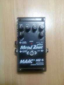 Maximum Acoustics MZ-5 Metal Zone Plus  черный, серый