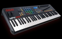 MIDI-клавиатура Akai MPK 261 + Стойка + Педаль